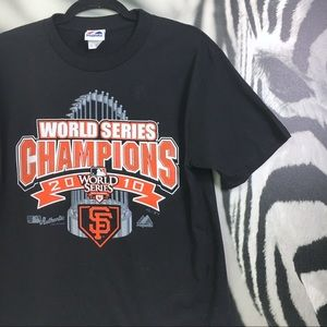 Other - MENS SF Giants World Series 2010 Logo Tee Medium